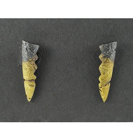 Jenny Reeves Stalactite Stud with 23k Keum-Boo