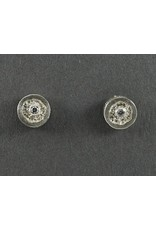 Jenny Reeves 9mm Erosion Studs with 2mm Diamonds