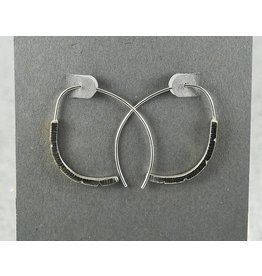 Jenny Reeves Talon Hoops with SS Wire
