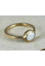 Nichole Shepherd Jewelry Gold Opal Ring