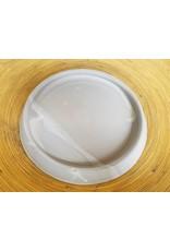 Settle Ceramics Prya Plates Matte White
