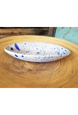 Settle Ceramics Oval Server-Speckle