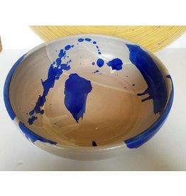 Settle Ceramics Royal Splash Serving Bowl
