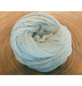 Scarf Shop Fine Organic Cotton Scarf Small-Sea Foam