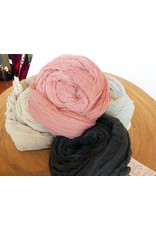 Scarf Shop Fine Organic Cotton Scarf Small-oatmeal