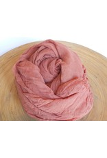 Scarf Shop Giant Organic Cotton Scarf-Rosewood