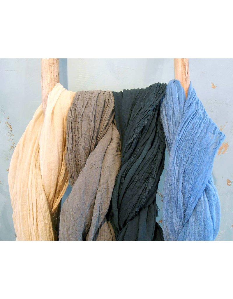 Scarf Shop Fine Organgic Cotton-Natural