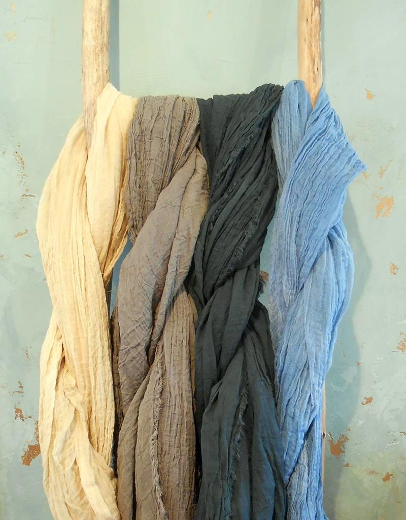 Scarf Shop Fine Organic Cotton-Natural