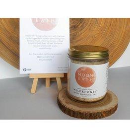 Moon Bath Milk and Honey Infused Sundance Sea Salt-8oz