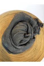 Scarf Shop Giant Organic Cotton Scarf-Fog