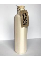 Earth-In 4 Corners 24oz Water Bottle-Bone White
