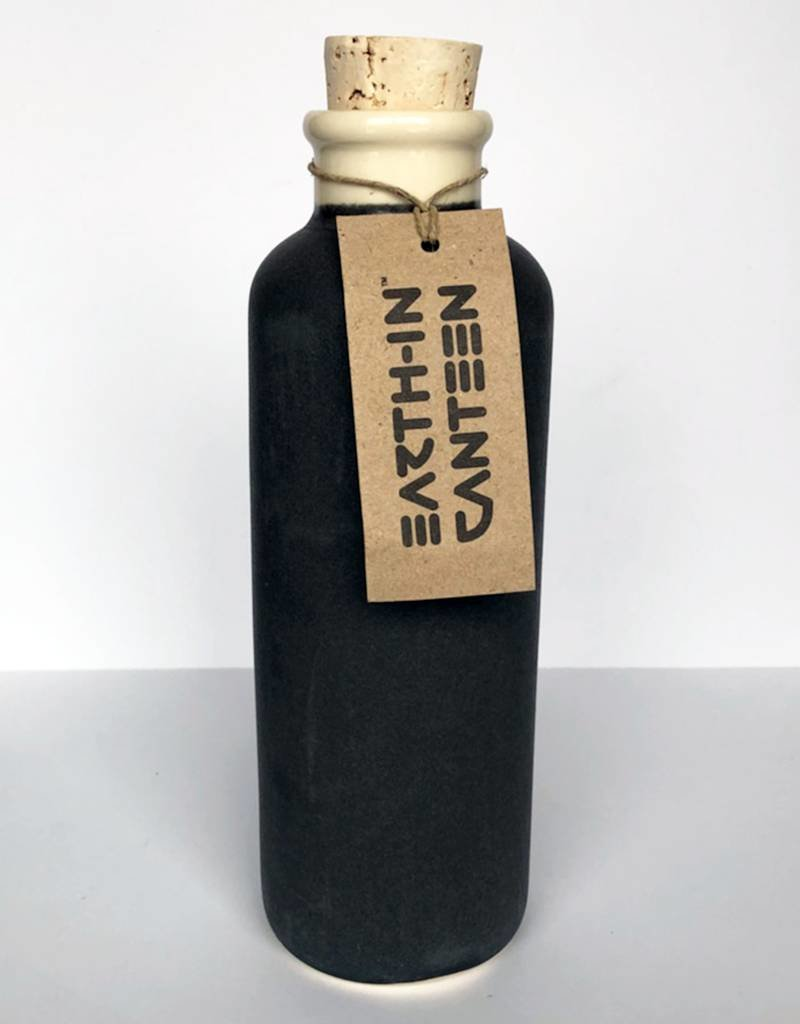 Earth-In Revolve 24oz Water Bottle-Charcoal