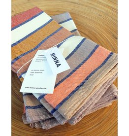 MINNA Sunnrise Stripe Napkin-set of 4