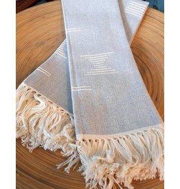 MINNA Shapes Tea Towel in Grey