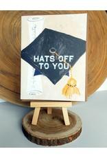 Ferme A Papier Graduation Hat Cards