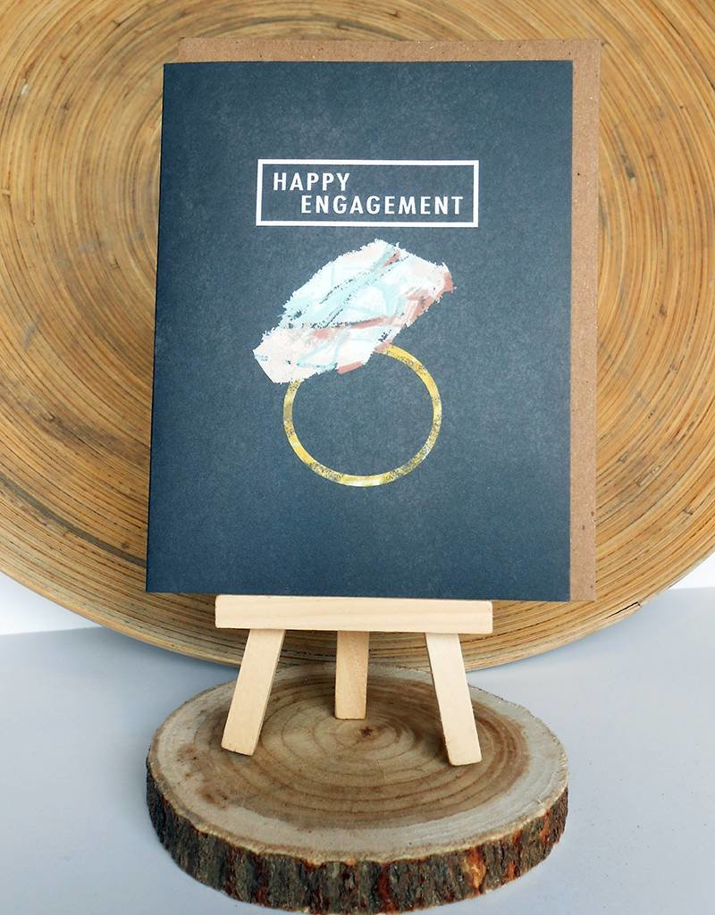 Ferme A Papier Gem Engagement Cards