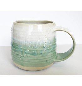 Unurth Ceramics Barnacle Mug-White/Mint
