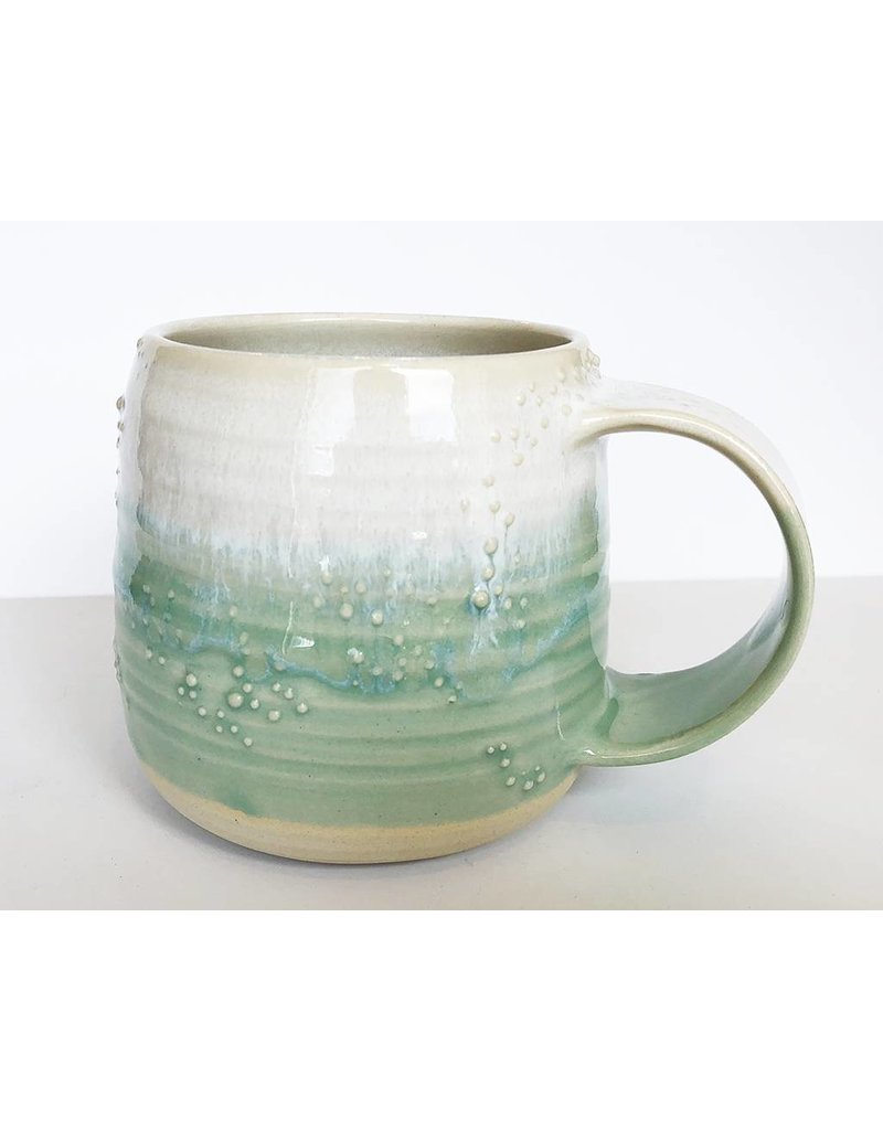 Unurth Ceramics Barnacle Mug-White/Mint