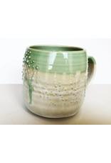 Unurth Ceramics Barnacle Mug-Mint Confetti