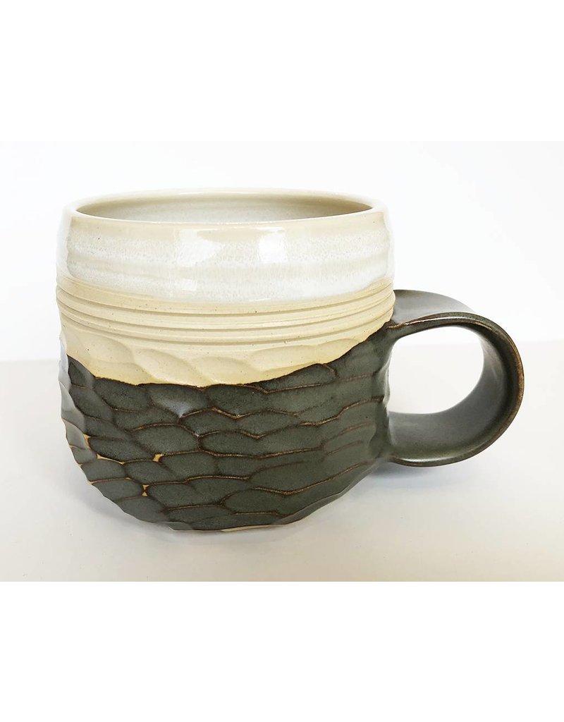 Unurth Ceramics Horizon Mug-Grey/Shino