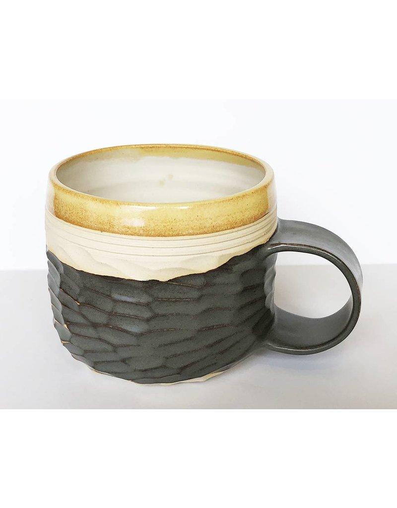 Unurth Ceramics Horizon Mug-Mustard Shino