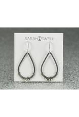 Sarah Swell Jewelry Flotsam&JetsamTearDrop Earrings Sterling Silver-Oxidized