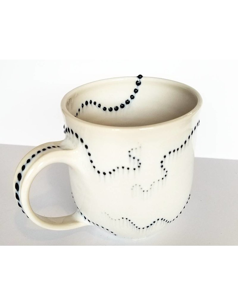 The Clay Cache Brittle Star Mug-Grey