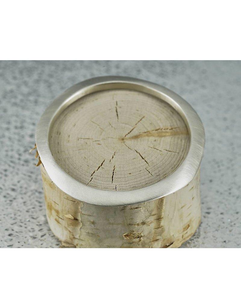 Judi Powers Jewelry Montauk Bangle Sterling Silver-Regular