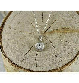 Judi Powers Jewelry Wish Necklace Sterling Silver-Blue Sapphire