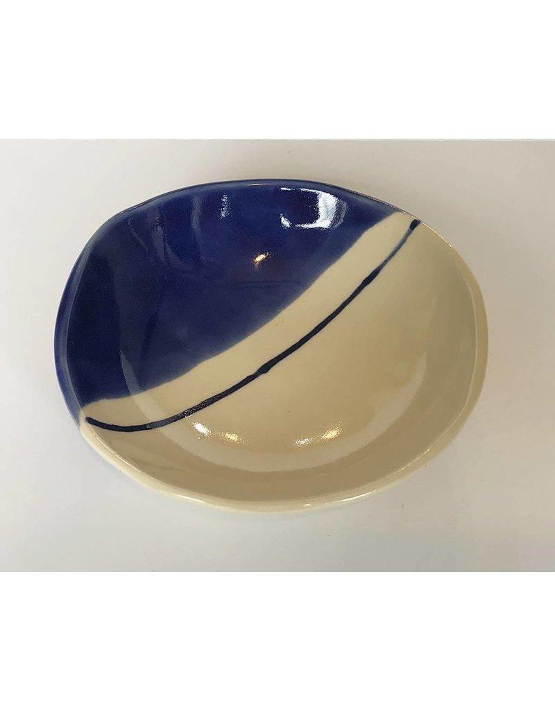 Gopi Shah Ceramics Catch All Bowl-Half Moon