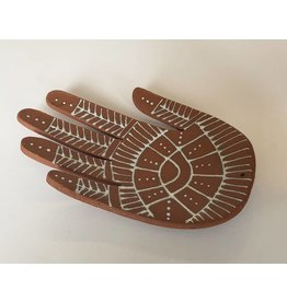 Gopi Shah Ceramics Ceramic Hand-Brown Mehndi
