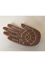 Gopi Shah Ceramics Ceramic Hand-Brown Mehndi