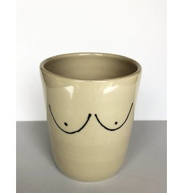 Gopi Shah Ceramics Tumbler-Simple Boob