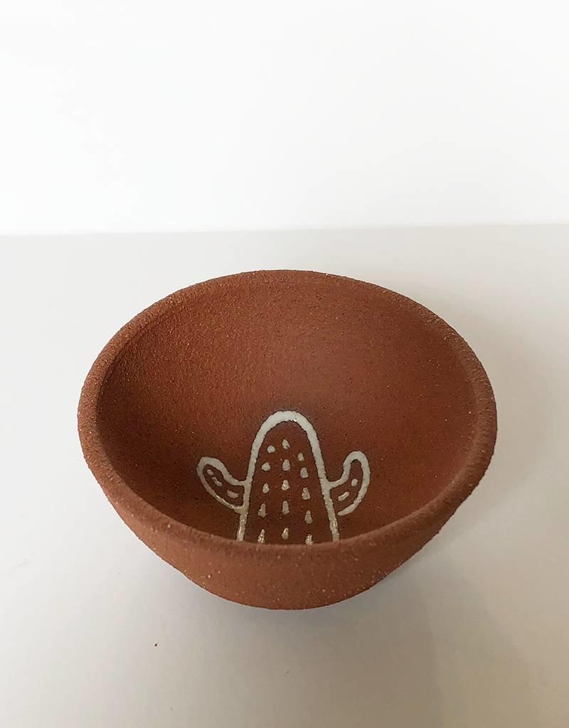 Gopi Shah Ceramics Copita Bowl-Cactus