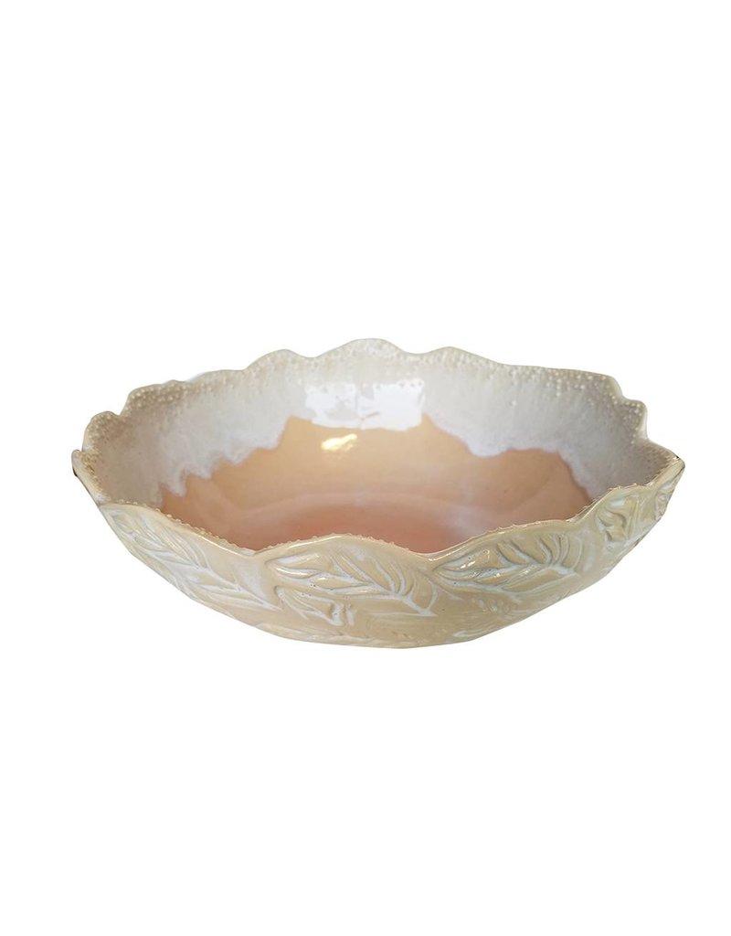 Unurth Ceramics Iris Serving Bowl-Caribbean