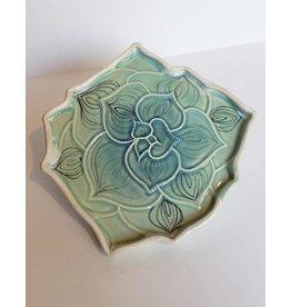Unurth Ceramics Mojave Painted Catch All-Neptune