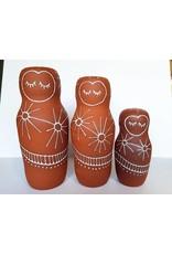 Gopi Shah Ceramics Clay Person-Sun