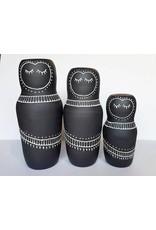 Gopi Shah Ceramics Clay Person-Fringe