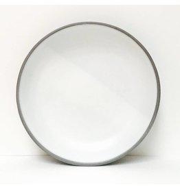 Wolf Ceramics Wolf Dinner Plate Simple White