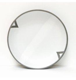 Wolf Ceramics Wolf Dinner Plate Geometric