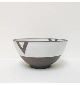 Wolf Ceramics Wolf Soup Bowl Geometric