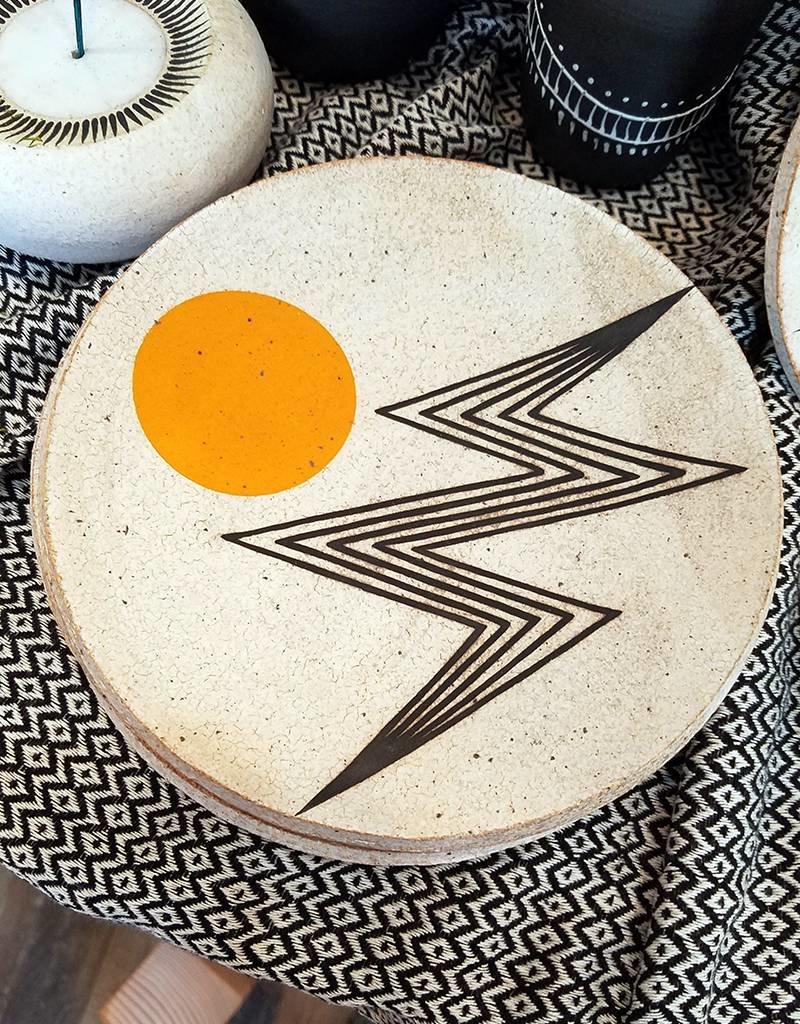 MQuan Studio Dish 7.25-Lightening Marigold