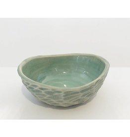 Unurth Ceramics Shell Spice Bowl-White Pacific