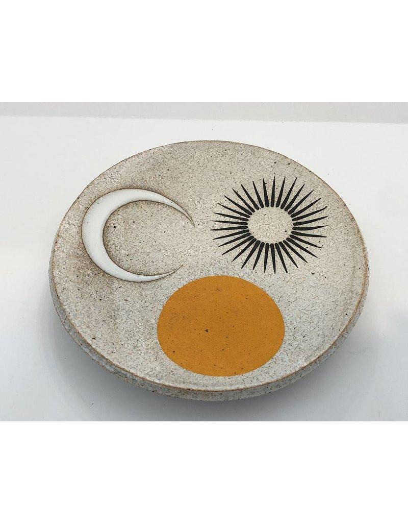 MQuan Studio Dish 7.25-Three Sunny