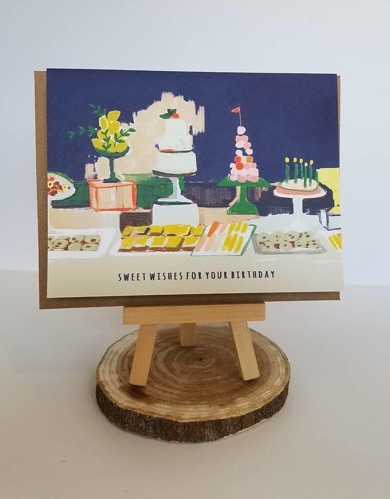 Ferme A Papier Dessert Table Card