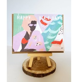 Ferme A Papier Happy Birthday BAE Card