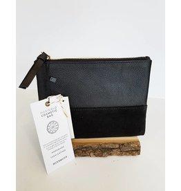 Bloom & Give Marigold Cosmetic Bag-Black