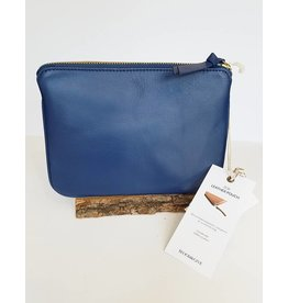 Bloom & Give Zoe Pouch-Blue