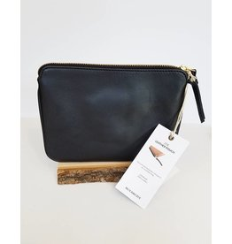Bloom & Give Zoe Pouch-Black
