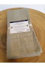 Bloom & Give Picot Handloomed Napkins-set of 4 Linen